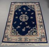 Kinesisk tæppe, uld på bomuld