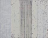 Ken Denning. Komposition. Olie på lærred