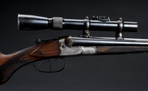 J P  Sauer & Sohn Double rifle S/S Cal  11 mm  Mauser black powder