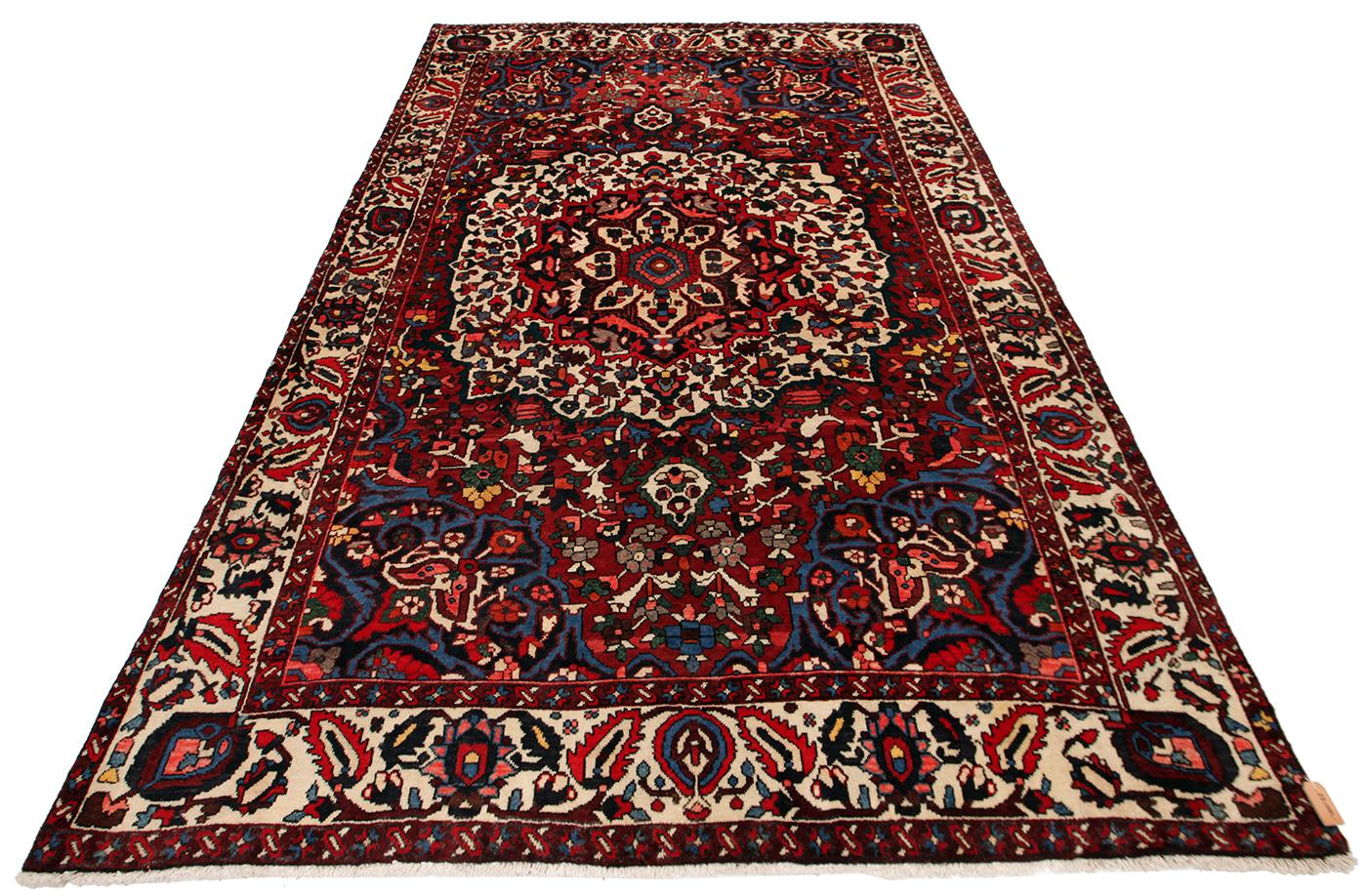 Persisk Bakhtiari 308 x 208 cm - Persisk Bakhtiari 308 x 208 cm Håndknyttet uld på bomuld