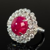 Ruby ring 14.44 ct