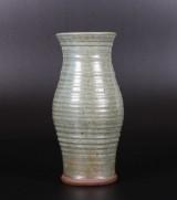 Vase, glaseret lertøj