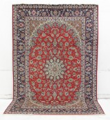 Carpet, Isfahan, Persia, signed, 307 x 202