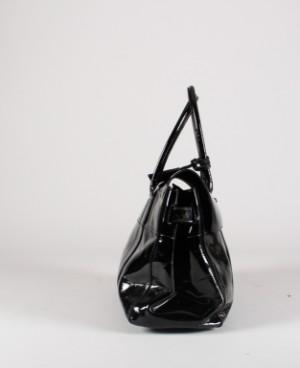 Mulberry taske, model Bayswater sort lak | Lauritz com