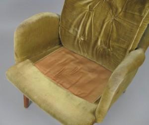 Lounge chair ohrensessel der 1950er jahre for Ohrensessel 1950