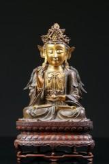 Guanyin figur af bronze, Kina, 1600-1700-tallet