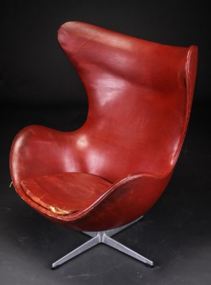 arne jacobsen sessel modell 3316 39 das ei 39. Black Bedroom Furniture Sets. Home Design Ideas