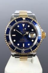 Rolex. Men's watch, model Submariner, gold/steel
