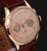 Vintage men's watch from Dom-Watch Genève, 18 kt. rose-coloured gold