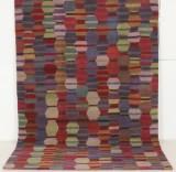 Handtuftad matta i modern design, 300x200