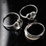 3 Ringe i sterling sølv