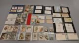 Samling postkort og breve