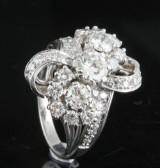 18kt. diamond ring approx. 3.00ct