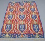 Anatolsk kelim af silke, 165 x 110 cm.