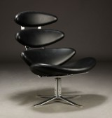 Poul M. Volther. Corona easy chair