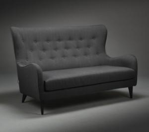 Seriøst Sits, model 'Pola'. Knapsyet sofa med høj ryg | Lauritz.com VH17