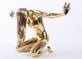 Robbi Jones: Erotisk skulptur af messing, model 'Vivien'