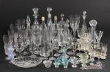 Stor samling glas, 1800/1900-tallet
