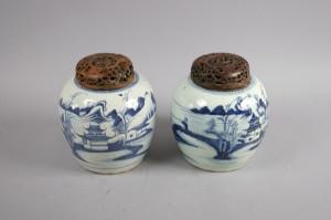 2 Bojaner, med lock, 1800-tal Denna auktion är annullerad2019427