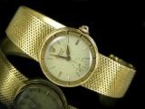 Vintage ladies' wristwatch - Rolex Precision, 1940s, gold