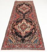 Handknuten äkta matta, Hamadan, 290x93 cm