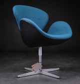 Arne Jacobsen, lounge chair, The Swan, model 3320, special edition, The Skyline Edition (3)