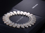 Ibe Dahlquist for Georg Jensen. 'Archive' necklace, sterling silver