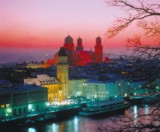 8-day Danube River Cruise with the DCS Amethyst from + to Passau in a twin bed cabin for 2 people, trip dates 17.08. - 24.08.2015
