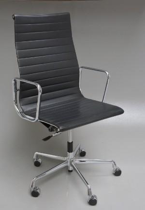 Charles Eames,kontorstol EA119 grå