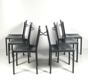 carlo bartoli st hle modell carol f r matteo grassi 6. Black Bedroom Furniture Sets. Home Design Ideas