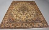 Persisk Najafabad. Uld på bomuld. 355 x 250 cm