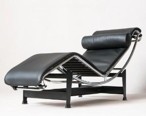 m bel le corbusier liege chaiselounge lc4 ausstellungsst ck f r cassina. Black Bedroom Furniture Sets. Home Design Ideas