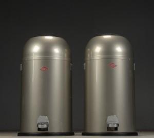 Wesco Kickmaster Zilver.Wesco Par Kickmaster Pedalspande 33l Grafit 2 Lauritz Com