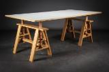Achille Castiglioni. Desk / work table, model 'Leonardo'