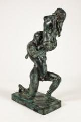 Erotisk skulptur i brons