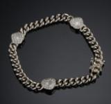 Chopard armbånd i hvidguld med brillanter