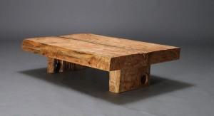 rustikt sofabord Slutpris för Rustikt sofabord af genbrugstræ rustikt sofabord