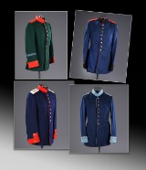 Four German uniforms, First World War (4)