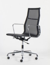 Charles Eames. Office chair, model EA-119, mesh