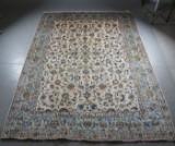 Orientalisk handknuten matta, Keshan, 396 x 294 cm.