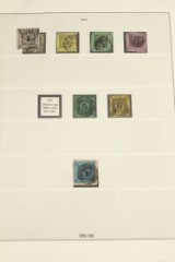 A large collection German states with many good stamps, catalogue value approx. DKK 350,000