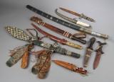 En samling orientalske blankvåben (9)