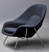 Eero Saarinen for Knoll. 'Womb chair', model XL