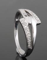 14kt diamond ring approx. 0.08ct