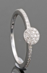Diamond ring in 18kt approx. 0.18ct.By Kapriss jewellery
