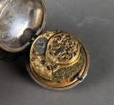 Thomas Tomson, London. Spindellommeur i kasse af sølv, anno 1772