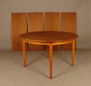 Hyggelig Dansk design. Cirkulært spisebord, FDB | Lauritz.com UK-75