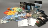 Danmark samling årsmapper 1976-84, 86,90-2004,2006-2010, samt SM57,60.