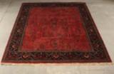 Indo Sarouk tæppe 248 x 298 cm.