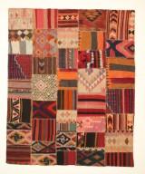 Matta, Kelim patchwork 255 x 205 cm